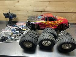 Nitro Rc Team Associated Mgt 4.6 Se Good Compression Sold As Is Parts/repair