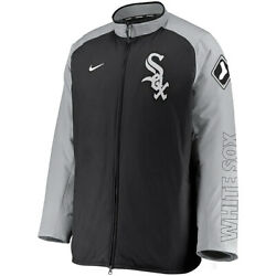 New 2021 Mlb Chicago White Sox Nike Authentic Collection Dugout Full-zip Jacket