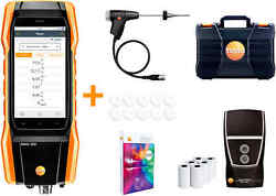 Testo 300 - Commercial Combustion Analyzer With Long Life Sensors And Printer 0