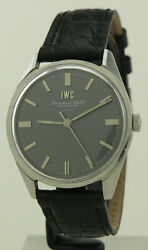Ref R810 Steel 35mm Manual Calibre 89 Centre-second Grey Double Signed Beyer