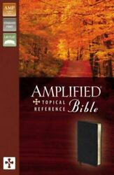 Amplified Topical Reference Bible - Bonded Leather By Zondervan - Good