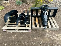Great Bear Heavy Duty Auger With 3 Bits Brand New
