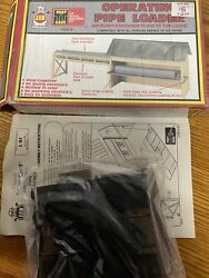 Ahm Ho Scale Building Kit Operating Pipe Loader For Train Layouts For All Trains