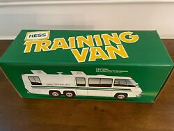New Hess Training Van Mint From Case