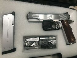 Fully Upgrade Western Armswa Airsoft Kimber 1911prime Al Kit+all Steel Parts