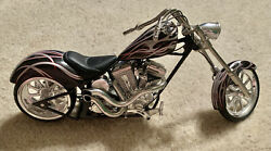 Toy Zone Brand Motorcycle For Action Figures Or WWE Undertaker Etc $25.00