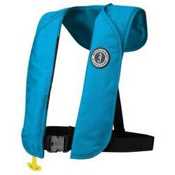 Mustang Mit 70 Inflatable Pfd Automatic Azure Blue Md4032-268