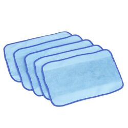 30x5-pack Wet Microfiber Mopping Cloths Washableandreusable Mop Pads Fits For