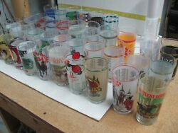 Lot Of 36 Mint Julep Kentucky Derby Glasses 1980's, 1990's, 2000's, 2010 To 2015