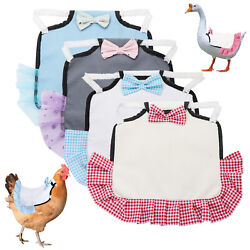 Comfortable Clothes Pet Feather Protector Chicken Saddles Gardening supplies