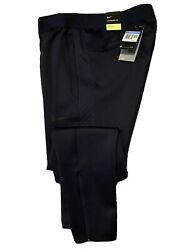 Nike Therma Water Repel Training Pants Navy Bv4000-452 Mens Size Med - Fast Ship