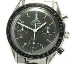 Omega Speedmaster 3510.50 Chronograph Black Dial Automatic Menand039s Watch_590169