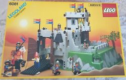 Vintage Lego Castle 6081 Kingand039s Mountain Fortress City/pirate Very Rare