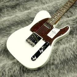Fender Japan Traditional 60s Tl Roasted Maple Neck Olympic White