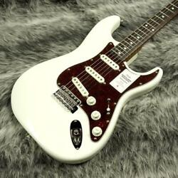 Fender Japan Traditional 60s St Roasted Maple Neck Olympic White