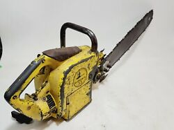 Vintage Mcculloch 35 Chainsaw For Parts Or Repair 1957-59 Complete And Original
