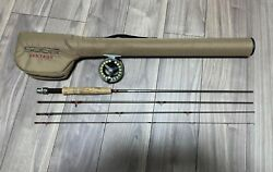 Sage 490-4 Vantage 4 Line 9and0390 4p Fly Rod Fishing Casting W/tube Reel 2030