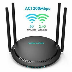 Ac1200 Smart Wifi Router - 1200mbps Touch Link Smart Dual Band Gigabit