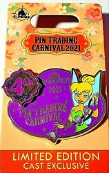 Hong Kong Disney Hkdl Pin Trading Carnival 2021 Tinker Bell Cast Exclusive Le800