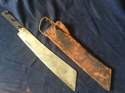 Wwi French Coup Colonial Machete Dagger Sword Knife Rare