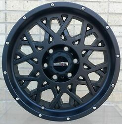 4 Wheels 20 Inch Rims For Hummer H2 Ford E-150 Nissan Nv 1500 2500 3500 -129