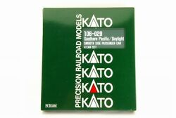 Kato N-scale 106-029 Southern Pacific Smooth Side Passenger Car 4 Car Set Rare
