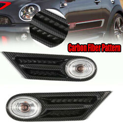 Clear Led Side Marker Light Lamp Fit For Bmw Mini R56 R57 R58 R59 2007-2013 New