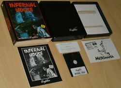 Infernal House Inferna Adventure By Lankhor Amstrad Cpc / Boxed Collectible