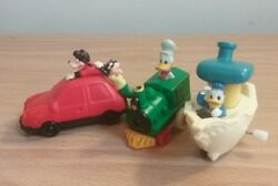 Lot Of 3 90s Burger King And Other Disney Wind Up Toys Donald Duck And Goofy Family