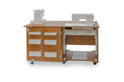 Comfort 1qw | Sewing Machine Cabinet Overlock Desk Hobby Storage Patchwork Table