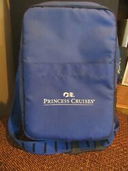Vintage Princess Cruises Picnic Time Nylon Insulated Picnic Bag With Dishes