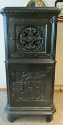 Antique/vintage Brunswick Victrola Cabinet- Has Been Modified