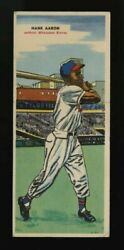 1955 Topps Double Header Hank Aaron Centered Best One On Ebay Very Fair Price Hq