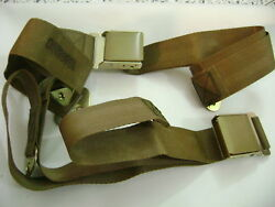 Military Jeep Willys Mb M38 M151 Dodge M37 Reo M35 Tank Truck Seat Belts Nos