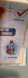 Brand New Disney Puppy Dog Pals Travel Pets Series 5-captain Dog Rare And Hedgie