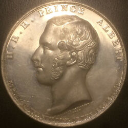 Uk - Medal - Albert Exhibition Of The Industries London 1851