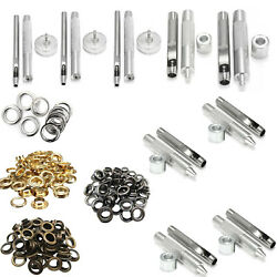 3mm - 20mm Eyelets With Washers Grommet Setting Tools For Diy Bags Sewing Crafts