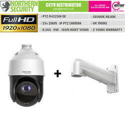 Hilook Ptz 2mp H.265 Poe 25x Optical Zoom Speed Dome Ip Security Camera Cctv