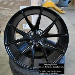 Staggered Rims 22 Inch Wheels For 2013 2014 2015 Camaro Ls Lt Rs Ss Only -5709