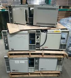 Lot Of 18 Hp 5890 Series Ii Gs Chromatograph For Parts