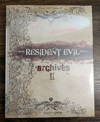 Resident Evil Archives Vol. I And Ii 1 And 2 Books Rare Bradygames Capcom Sealed