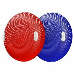Float World Snow Tube Two Pack For Kids And Adults - Large 48 Heavy Duty Inf...