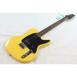 Used Ibanez Ndm3 Yellow Electric Guitar Free Shipping Good Condition