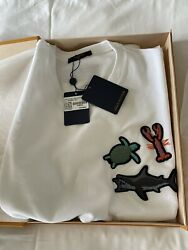 Louis Vuitton Beads Animals And Monogram Tee 3l Xxl New W/tags Mens Shirt