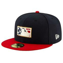 New Era Mlb Umpire 4th Of July Collection On-field 59fiftyfittedcaphat New