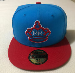 Miami Marlins 2021 City Connect New Era 5950 Fitted Hat Size 7 1/2 Nwt Sold Out