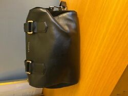 SANDRO LEATHER AND SUEDE BAG $100.00