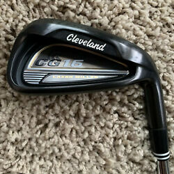 Cleveland Cg16 Black Pearl Laser Milled 7 31 Iron Rare Demo Traction 85 Steel R