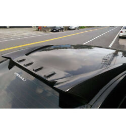 Painted For Honda Civic 8th 4dr Sedan Rear Window Fin Roof Spoiler Wing New 3pcs