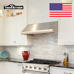 48'' Range Hood Wall-mounted Extractor Built Stainless Steel In/insert Cabinet